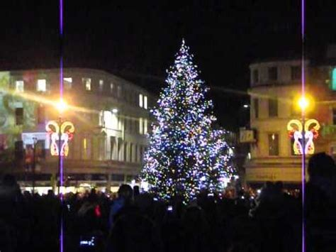 dundee christmas lights switch on and fireworks 2014 youtube