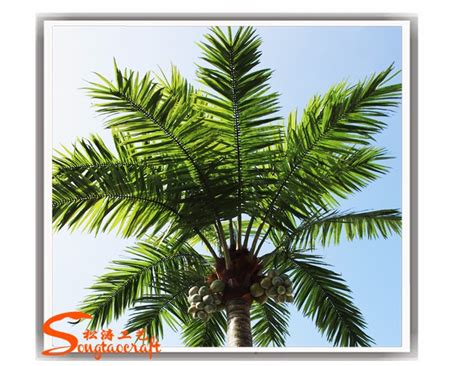 artificial trees for sale in canada songtao fiberglass artificial king coconut palm tree