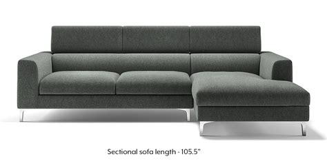 sofas urban ladder chelsea adjustable sectional sofa grey urban ladder