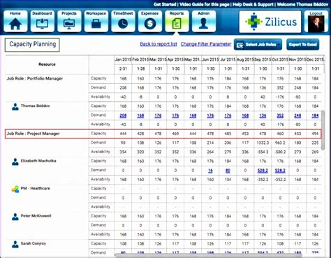 6 Resource Capacity Planning Excel Template Exceltemplates Exceltemplates Human Resource Capacity Planning Excel Template
