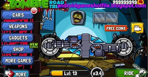 download mod game zombie road racing zombie road trip 3 15 mod apk unimited coins download