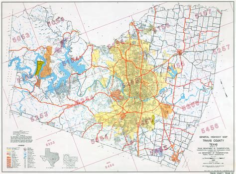 map of travis county texas texas maps perry casta 241 eda map collection ut library