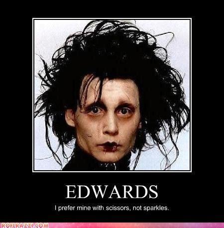 Edward Meme - haha edward scissorhands photo 27966868 fanpop