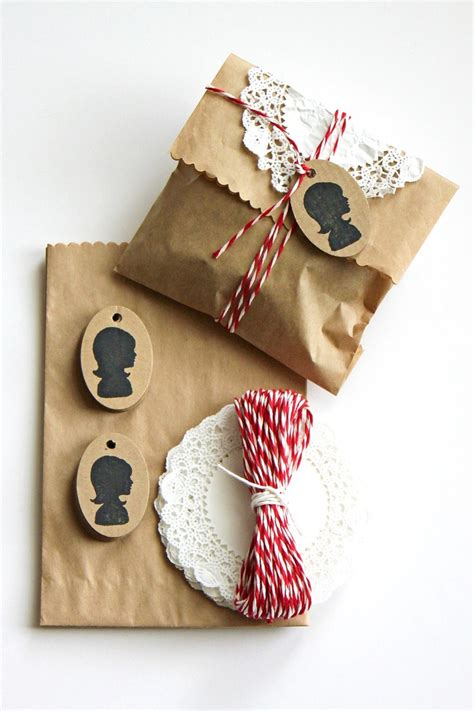 Gift Bags From Wrapping Paper - brown paper bags as gift wrap gift wrap