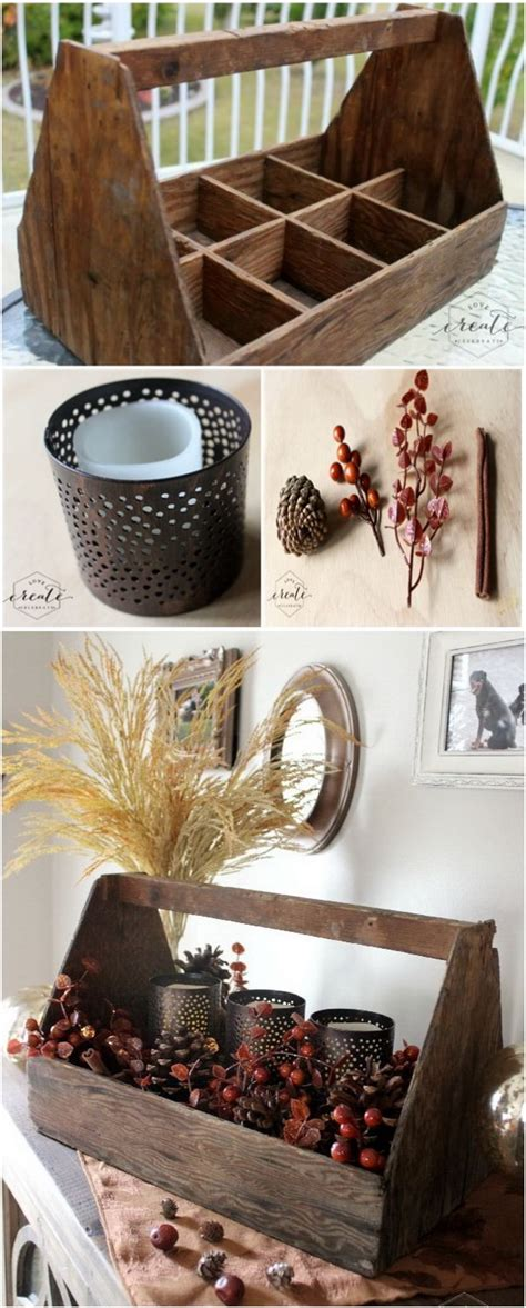 Vase Decoration Ideas Table Centerpieces 40 Beautiful Diy Rustic Decoration Ideas For Fall