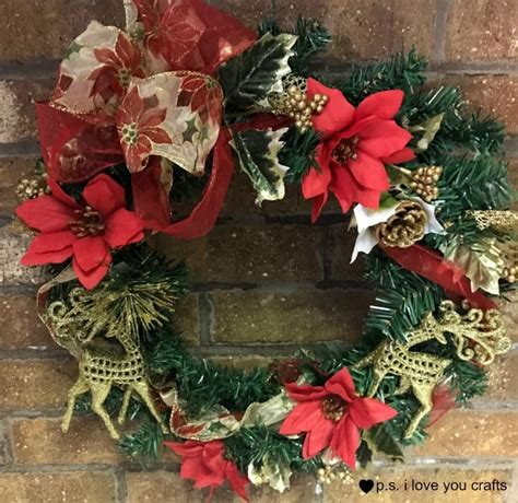 dollar tree christmas letters dollar tree wreath p s i you crafts