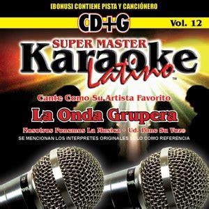 Mastery Vol 12 master karaoke vol 12 karaoke canta la onda grupera enjoylamusica