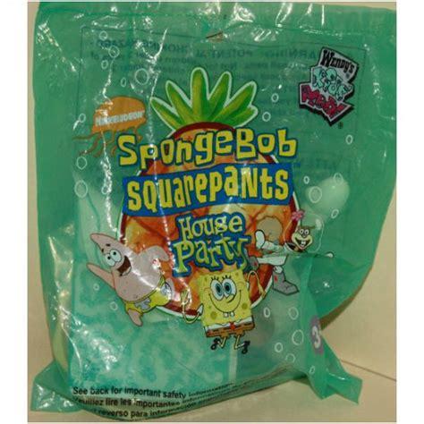 spongebob house party 2002 wendys spongebob house party sandy mip on ebid united kingdom 95278560