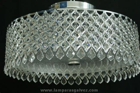 apliques roca plafon cristal de roca l 225 mparas e iluminaci 243 n decorativa