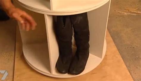 created   shoe rack