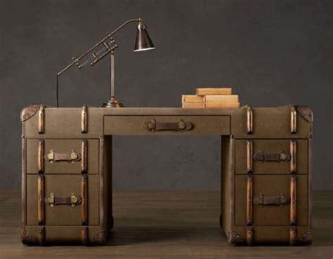steamer trunk dresser restoration hardware a vintage english steamer trunk by restoration hardware