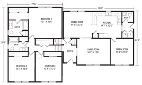 tri level house floor plans u and u modular homes split level floorplans