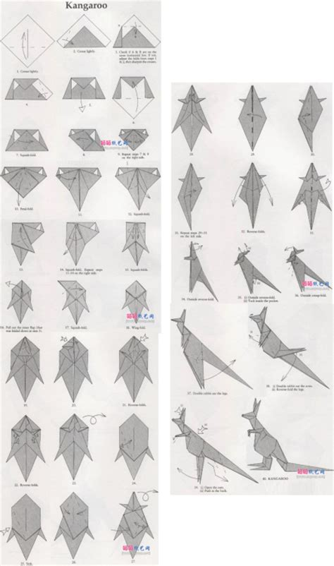 how to make a origami wolf origami