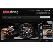 Auto Tuning Automobile Mobile Website Template By W3layouts