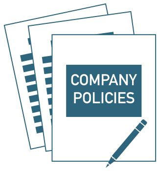company policies template promo company policies pack template