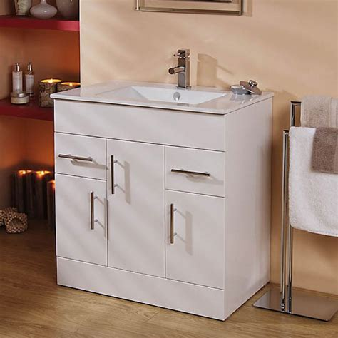 Aspen Bathroom Furniture Modena Aspen 75cm Vanity Unit