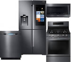 samsung appliance family hub kitchen appliance packages sam4