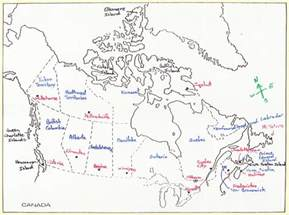 canada water bodies map bodies of water of canada
