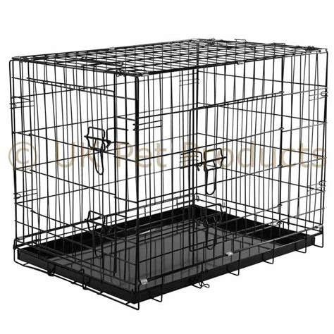 puppy crates crates cages puppy small medium large large standard metal cage ebay