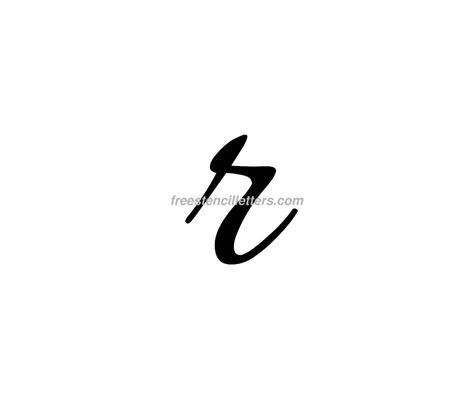 small r print small r letter stencil free stencil letters