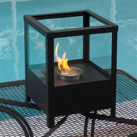 Ethanol Fireplace Outdoor by 9 5 Quot Sparo Indoor Outdoor Table Top Ethanol Fireplace Nf