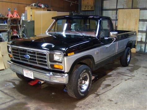how to work on cars 1985 ford f series head up display 1985 ford f150 information and photos momentcar