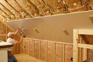 how to install rigid foam insulation on an interior