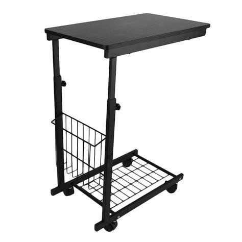 adjustable swivel laptop desk height adjustable laptop desk swivel bedside table stand