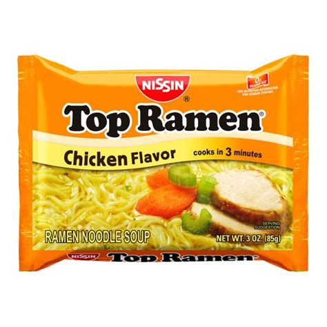 Top Ramen top ramen chicken 3 oz resnick distributors