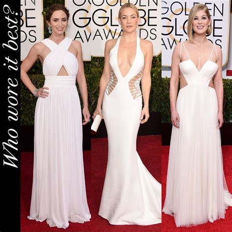 Oscar Trends To All White On The by Golden Globes 2015 Who Wore The White Cutouts Trend Best