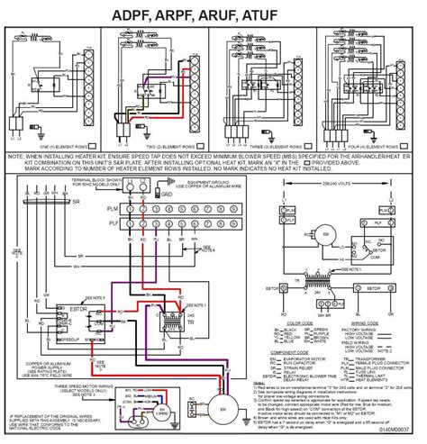 2 ton goodman heat kit wiring diagram free image about
