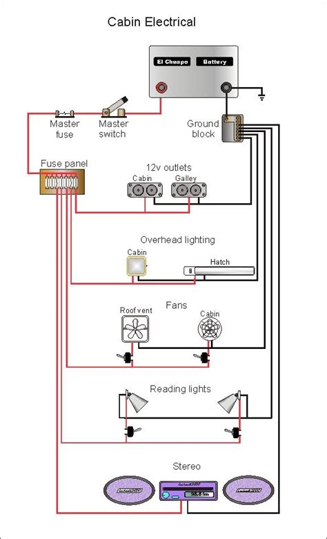 teardrop trailer wiring diagram wiringdiagram review