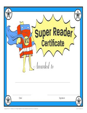 free printable star reader certificates certificate template for reading gallery certificate