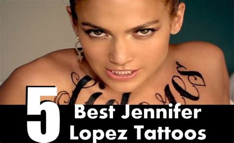 jlo tattoos 5 best tattoos that a can try style