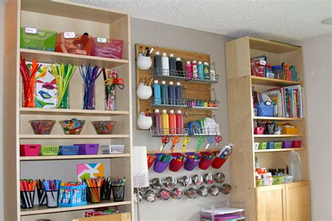 arts and crafts storage for s arts and crafts corner our new room