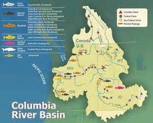 columbia river canada map columbia river in canada map pictures to pin on