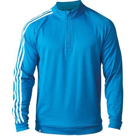 Sweater Adidas 3line 2016 adidas mens 3 stripe 1 4 zip fleece jacket golf cover up sweater ebay