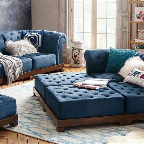 pottery barn teen sectional 1000 ideas about tufted sectional on pinterest tufted