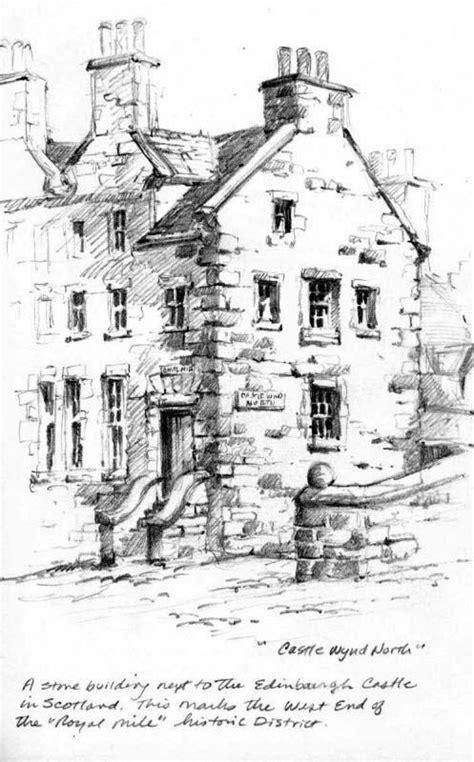 Drawing Near by Pencil Sketchbook Drawing Near Edinburgh Castle Pencil