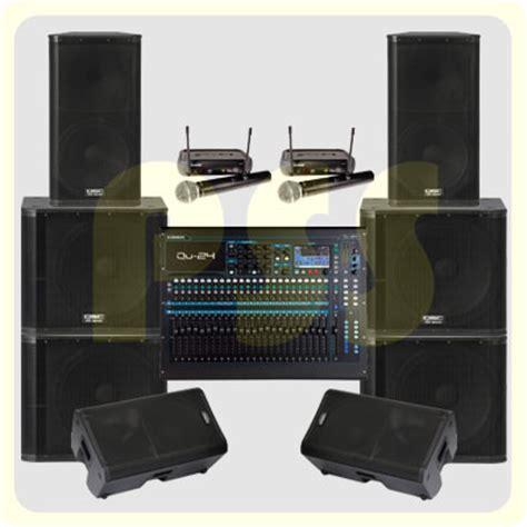 Speaker Aktif Qsc paket sound system outdoor qsc paket sound system profesional indonesia