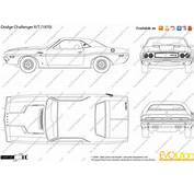 The Blueprintscom  Vector Drawing Dodge Challenger R/T
