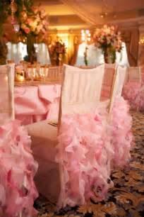 ruffled chair covers wedding trends ruffled chairs the magazine