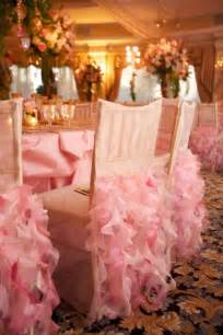 Wedding trends ruffled chairs belle the magazine