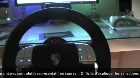 volante fanatec xbox 360 volant fanatec wheel porsche 911 turbo s part 1 2 pwts