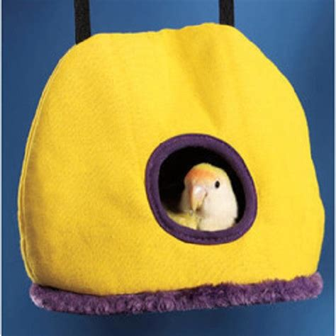 bird beds toys prevue pet snuggle sack medium large bed hut tent