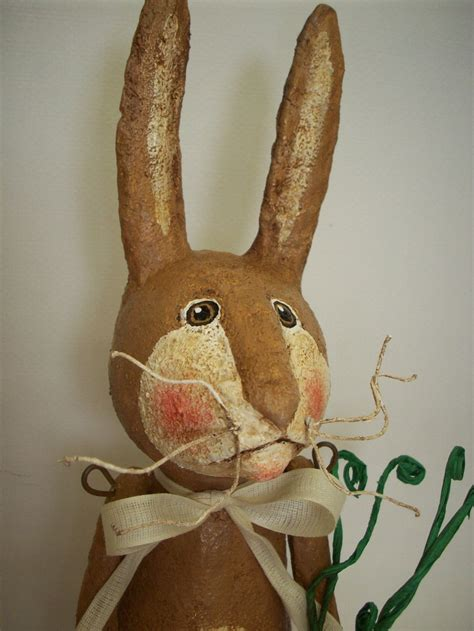 How To Make Paper Mache Rabbit - 1000 images about paper mache ideas on folk