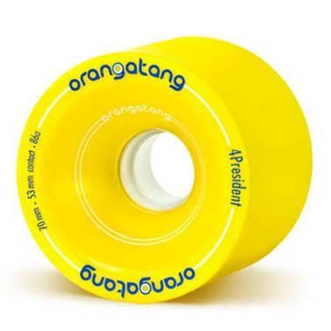 Orangatang 4 President 70mm orangatang 4president 70mm longboard wheels pack of 4 longboard wheels atbshop co uk