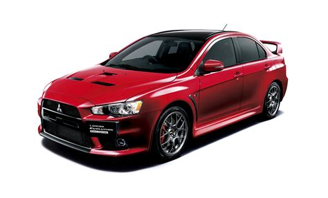 mitsubishi japan mitsubishi lancer evolution final edition available for