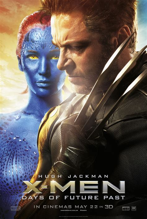 film fantasy del 2014 x men days of future past character posters movie posters