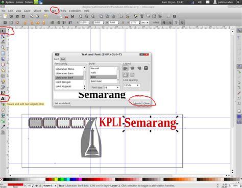 membuat logo dengan inkscape membuat logo dengan inkscape istana media go open source